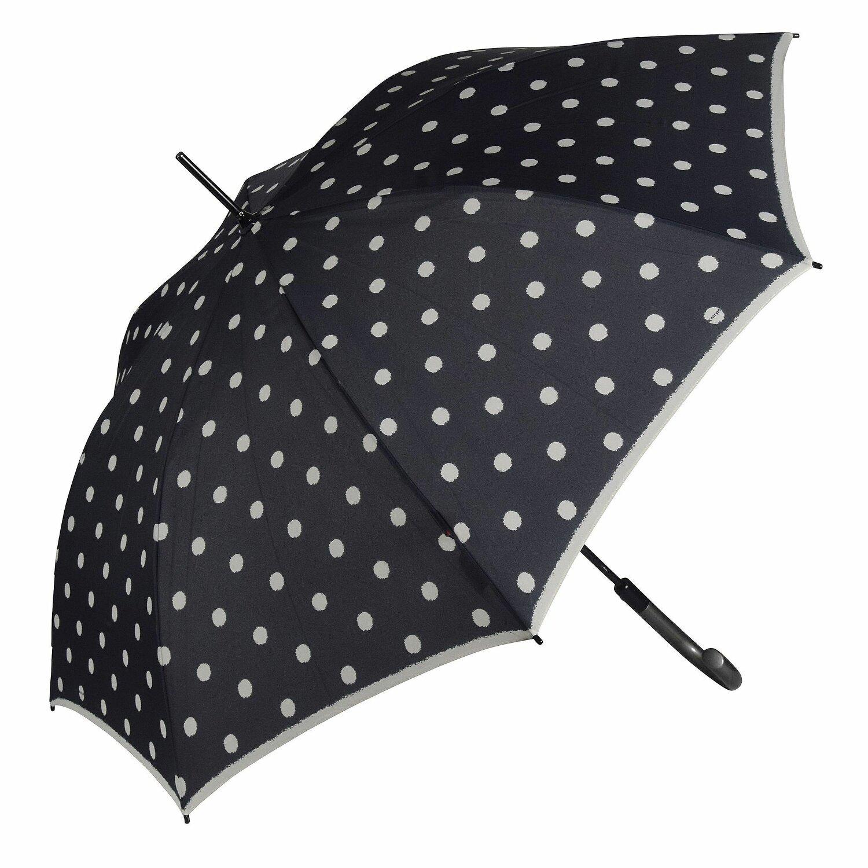 Regenschirme Knirps T.703 Stick Automatic Regenschirm Accessoire Check Navy & Bordeaux Blau