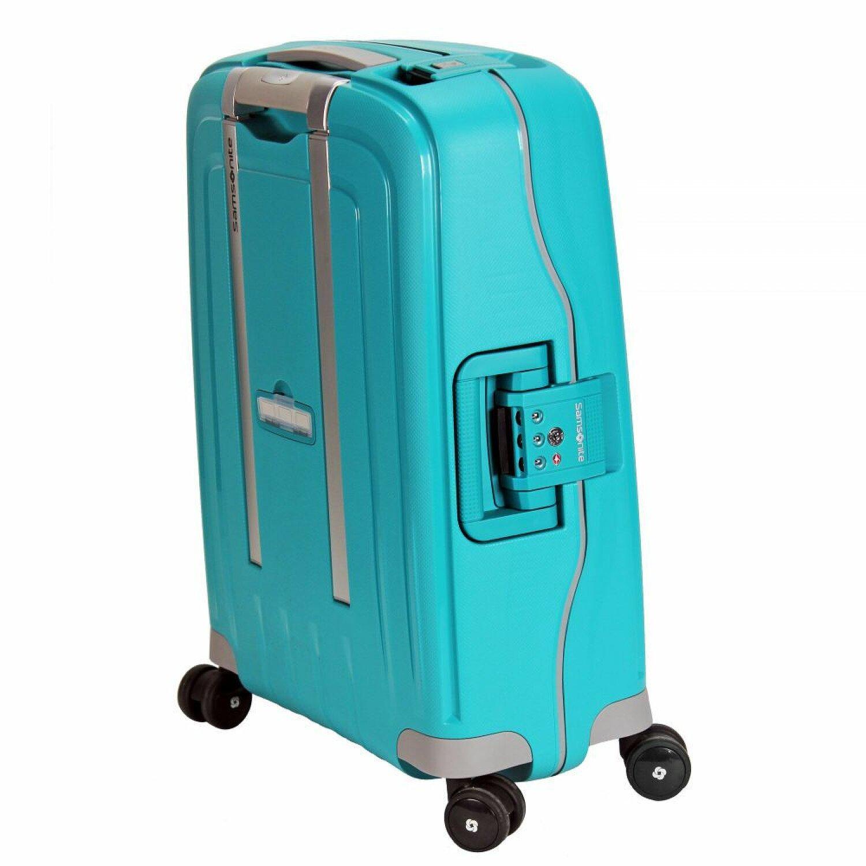 samsonite s 39 cure spinner 4 rollen kabinentrolley 55 cm aqua blue bei premium mall. Black Bedroom Furniture Sets. Home Design Ideas