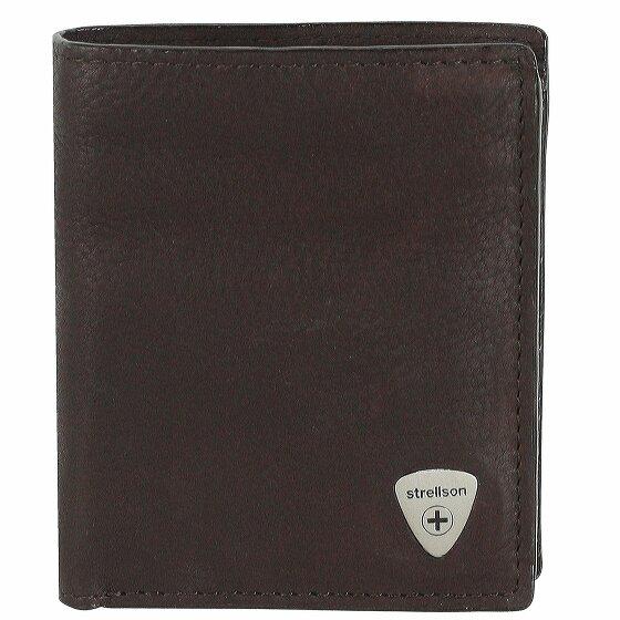 Strellson Harrison Geldbörse Leder 9 cm dark brown