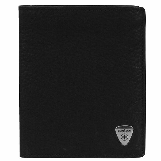 Strellson Harrison Geldbörse Leder 10 cm black