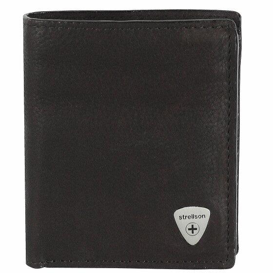Strellson Harrison Geldbörse Leder 9 cm black