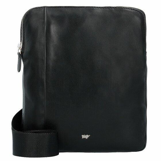 Braun Büffel Golf Mini Bag Umhängetasche Leder 21 cm schwarz
