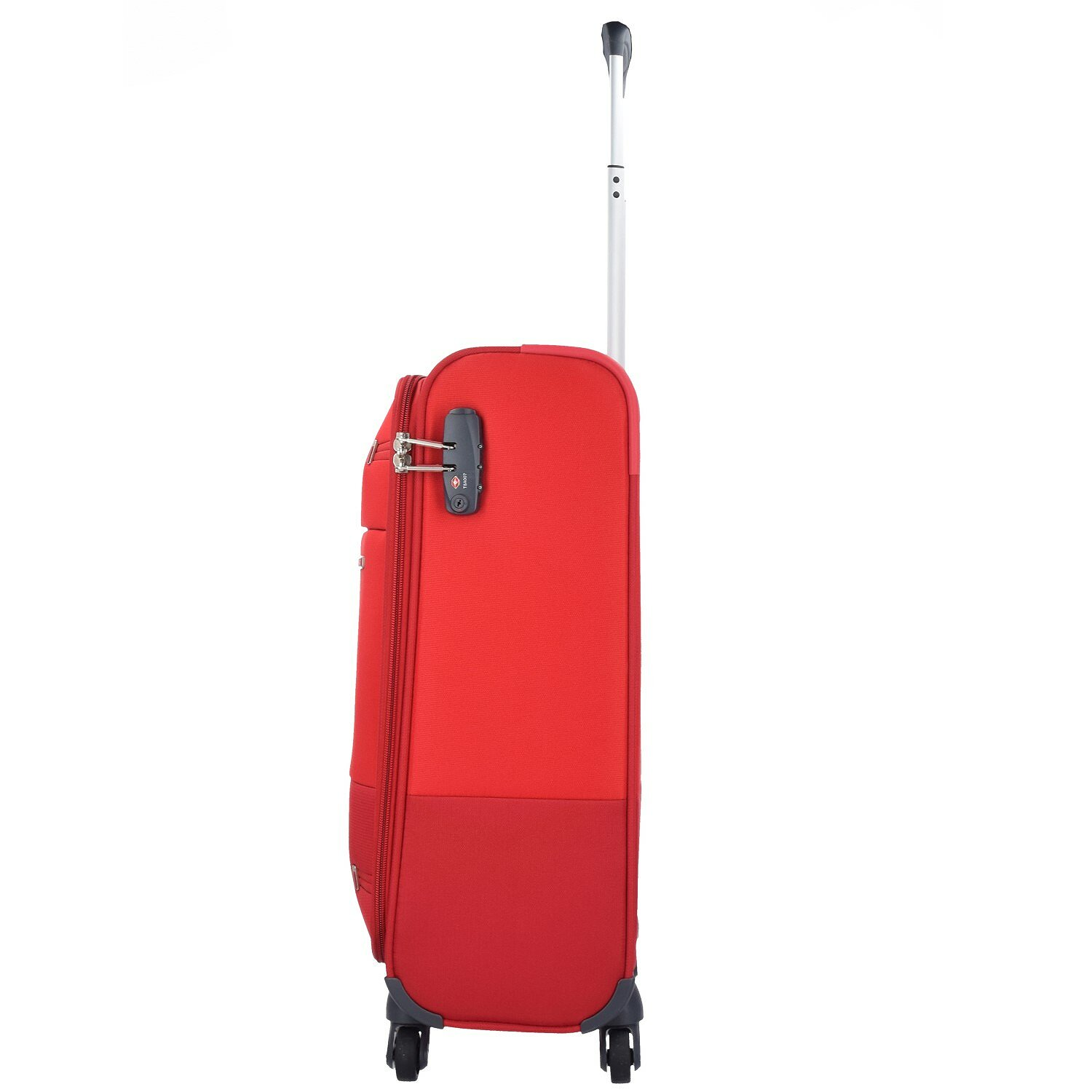samsonite base boost spinner 4 rollen kabinentrolley 55 cm red black bei premium mall. Black Bedroom Furniture Sets. Home Design Ideas