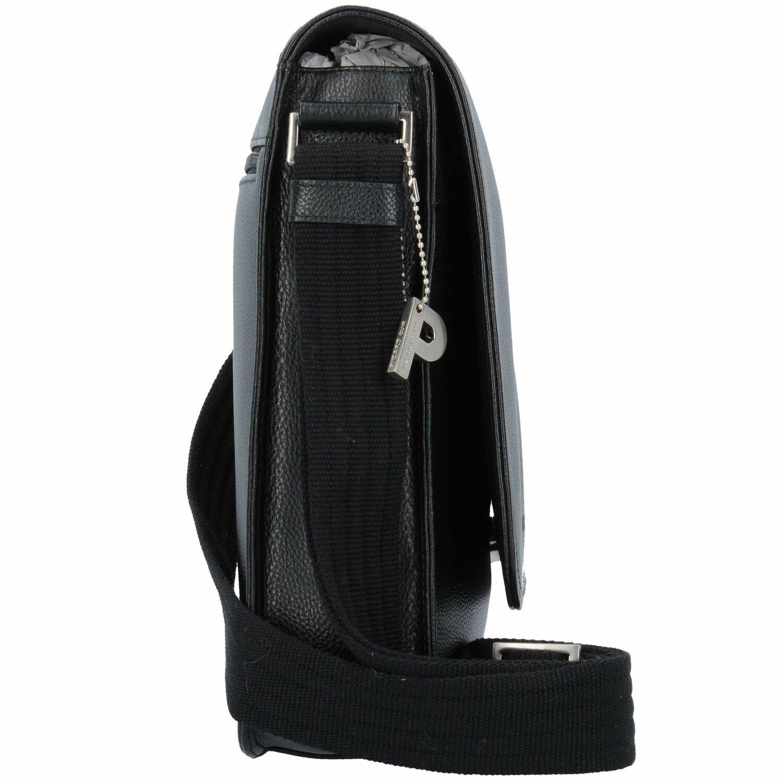 ... Picard Milano Umhängetasche Leder 22 cm schwarz ...
