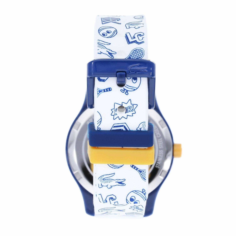 Kids WeissBei Lacoste12 Premium Quarzuhr Blau 12 Mall Kunststoff PZuikOX