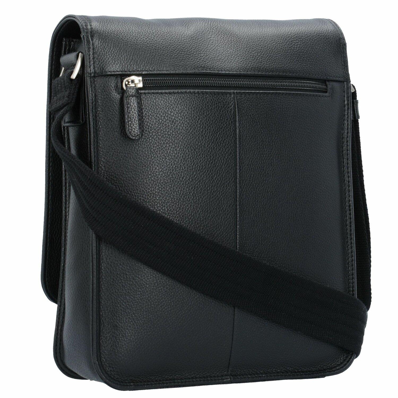 8610aeed446ab Picard Milano Umhängetasche Leder 22 cm schwarz