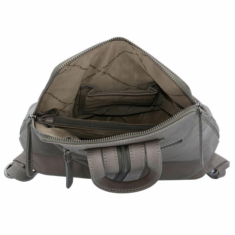 the chesterfield brand maria city rucksack leder 28 cm black bei premium mall. Black Bedroom Furniture Sets. Home Design Ideas