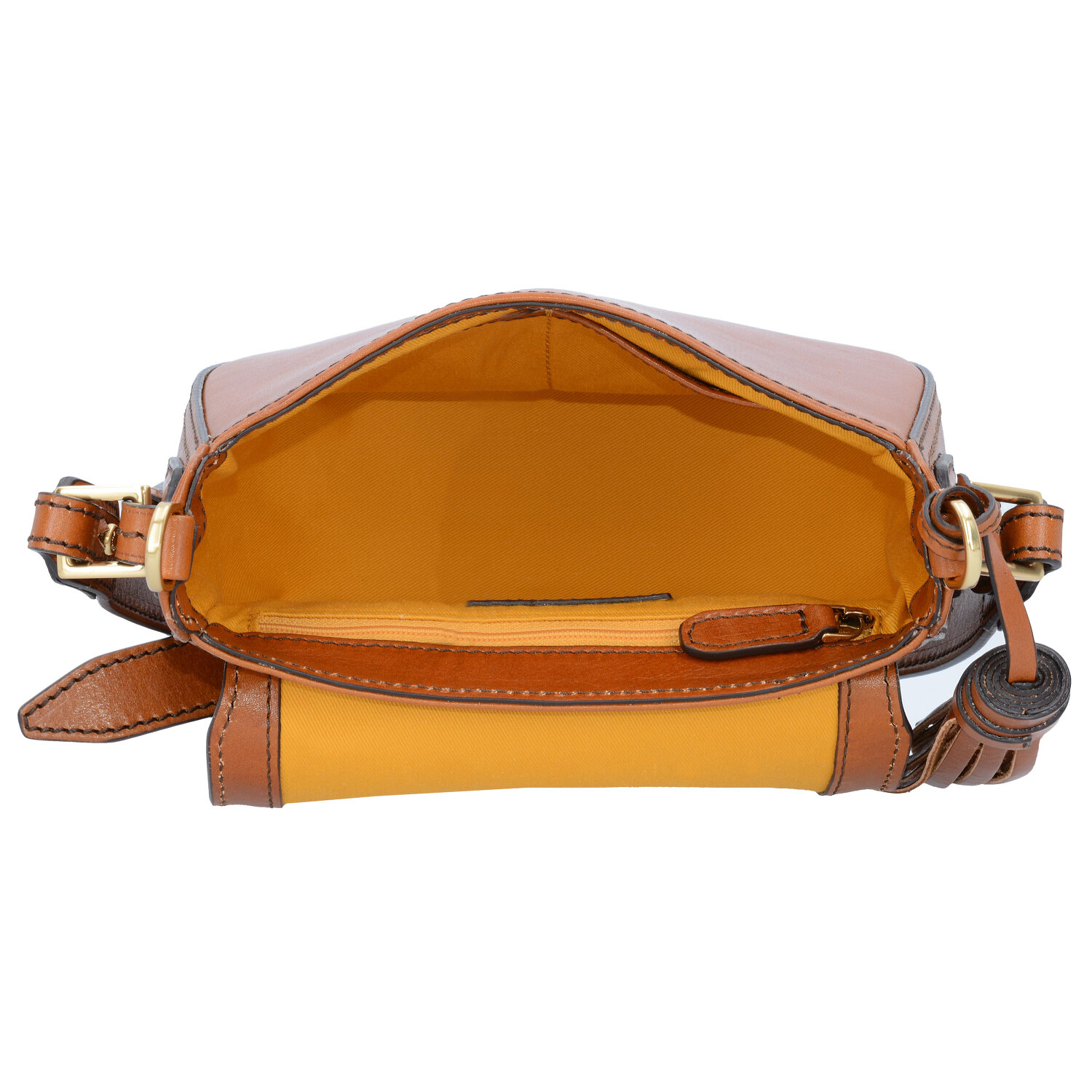 40d12d79264d5 The Bridge Murakami Mini Bag Schultertasche Leder 20 cm cognac abb ...